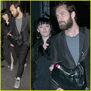 Jude Law: Groucho Club Night Out!