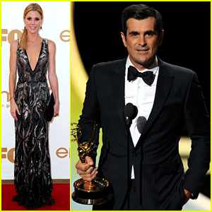 Julie Bowen & Ty Burrell: Emmy Winners for 'Modern Family'!