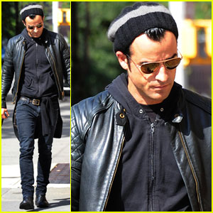 Justin Theroux: Pastis Pickup in NYC