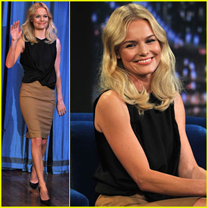 Kate Bosworth: 'Late Night with Jimmy Fallon' Guest!