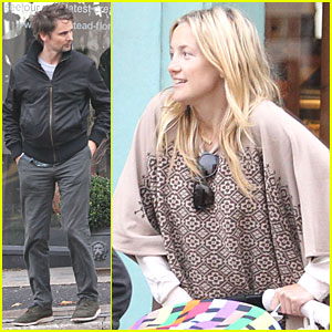 Kate Hudson, Matt Bellamy & Bingham: Sunday Stroll