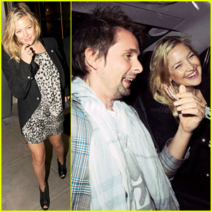 Kate Hudson & Matt Bellamy: London Lovebirds!