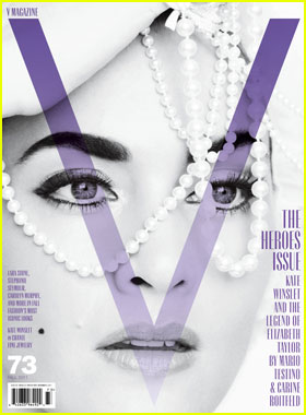 Kate Winslet Covers 'V Magazine' September 2011