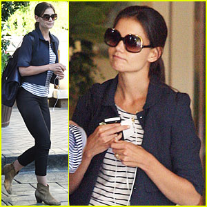 Katie Holmes: Business Meeting in Beverly Hills