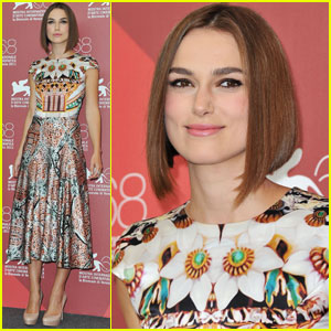 Keira Knightley: 'Dangerous Method' Photo Call in Venice!