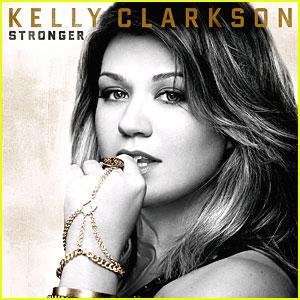 Kelly Clarkson: 'Stronger' Album Cover Released!