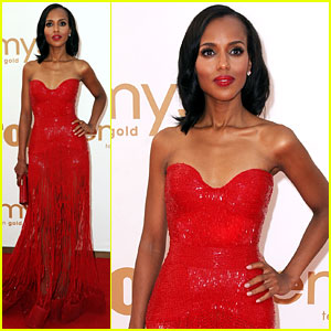 Kerry Washington - Emmys 2011 Red Carpet
