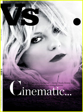 Kirsten Dunst Covers 'Vs.' Cinematic Issue