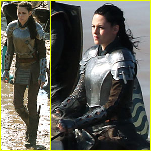 Kristen Stewart: Horseback Riding for 'Snow White'