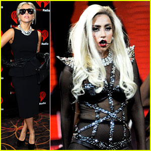 Lady Gaga Talks Jo Calderone at iHeartRadio Music Festival