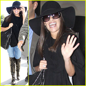 Lea Michele: Paris Bound!