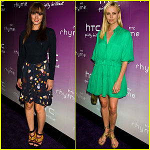 Leighton Meester: HTC Serves Up with Charlize Theron!