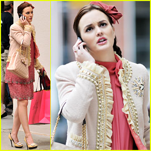 Leighton Meester: New 'Gossip Girl' Promo!