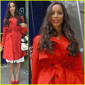 Leona Lewis: Red Hot in London!