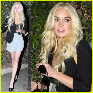 Lindsay Lohan Leaves Byron & Tracey