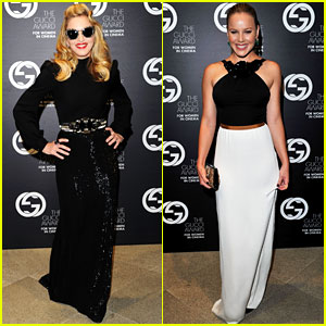 Madonna & Abbie Cornish: Gucci Award Ladies!