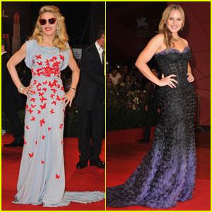 Madonna & Abbie Cornish Premiere 'W.E.' in Venice