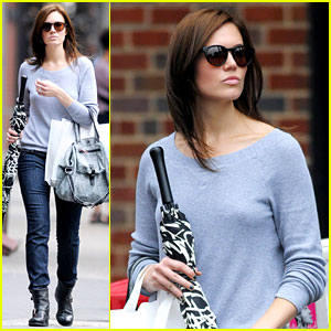 Mandy Moore: Last Day in NYC!