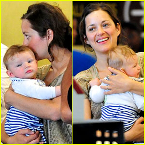 Marion Cotillard: First Pictures of Marcel!
