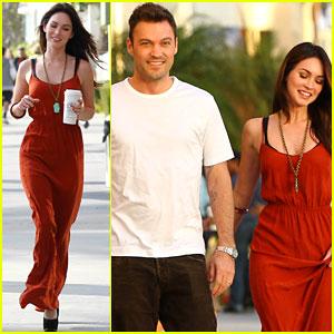 Megan Fox & Brian Austin Green: Santa Monica Sunday Dinner!