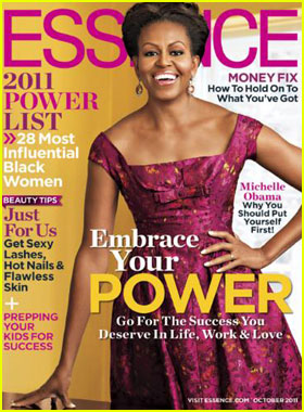 Michelle Obama Covers 'Essence' October 2011