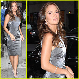 Minka Kelly: Late Show with David Letterman!