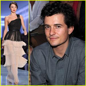 Miranda Kerr & Orlando Bloom: Christian Dior Show!