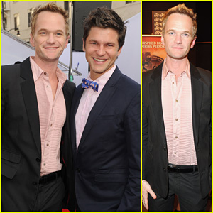 Neil Patrick Harris &#038; David Burtka: 'Iris' Premiere!