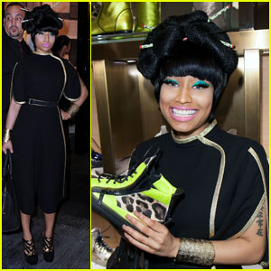 Nicki Minaj Causes Fandemonium During Fashion's Night Out