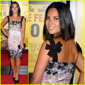 Olivia Munn: 'Contagion' Premiere in NYC!