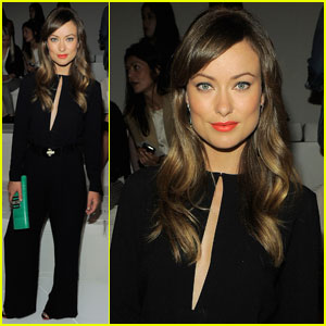 Olivia Wilde: Front Row at Ralph Lauren!