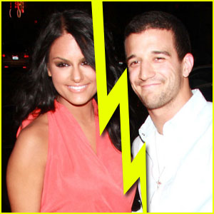 Pia Toscano & Mark Ballas Split