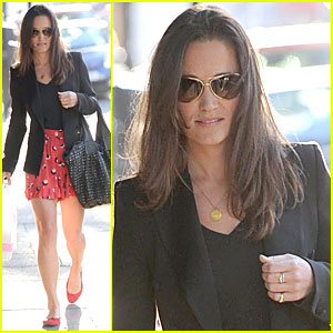 Pippa Middleton: Bakery Stop After Work!