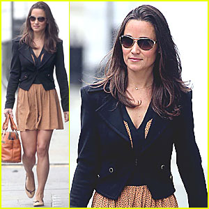 Pippa Middleton: Polka Dot Detailed Dress