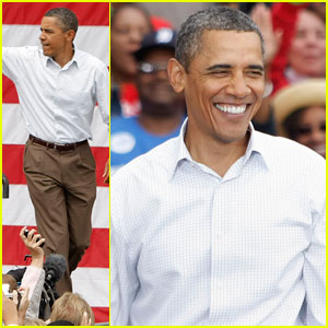 President Obama Spends Labor Day in Detroit