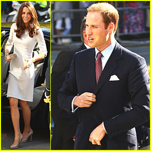 Prince William & Duchess Kate Visit Royal Marsden Hospital