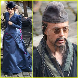 Rachel McAdams & Robert Downey Jr.: 'Sherlock' Re-shoots!