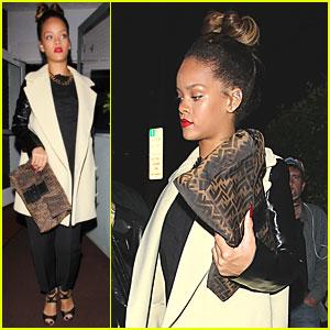 Rihanna: Giorgio Baldi Dinner