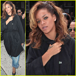 Rihanna: Photo Shoot in NYC!