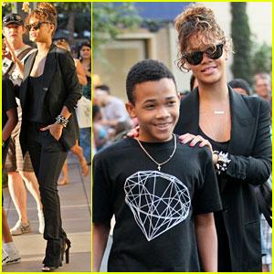 Rihanna: Shopping with Rajad!