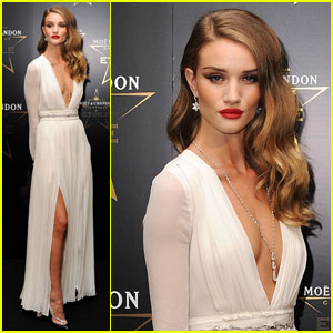Rosie Huntington-Whiteley Honors Mario Testino