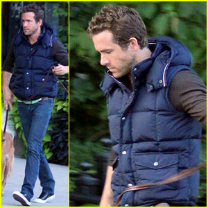 Ryan Reynolds: Evening Walk with Baxter!
