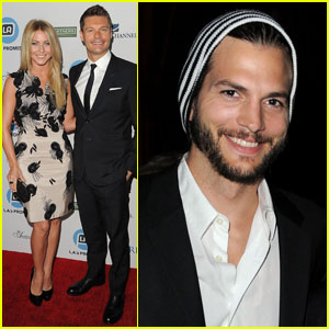 Ryan Seacrest & Julianne Hough: LA's Promise Gala!