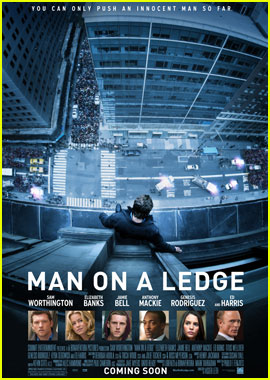 Sam Worthington: 'Man on a Ledge' Poster & Stills!
