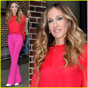 Sarah Jessica Parker Brightens Up 'Letterman'