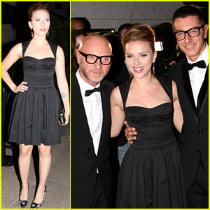 Scarlett Johansson: Dolce&Gabbana After Party!
