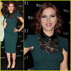 Scarlett Johansson Sings for Moet's New Ad
