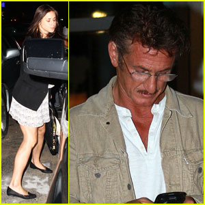 Sean Penn & Shannon Costello: Miami Mates