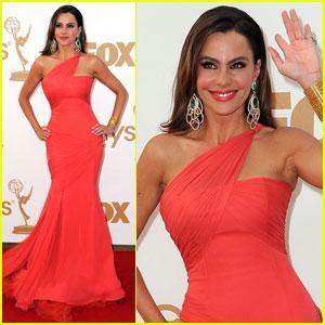 Sofia Vergara - Emmys 2011 Red Carpet