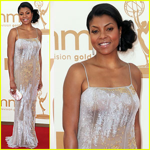 Taraji P. Henson - Emmys 2011 Red Carpet